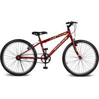 Bicicleta Kyklos Bikes Aro 24 Move Sem Marchas Vermelho