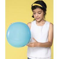 Blusa Infantil Menina Com Aplicação De Laise Hering Kids