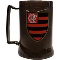 Caneca Gel Flamengo Fume Presente 400 Ml - Unissex