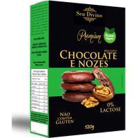 Biscoito Chocolate Com Nozes Seu Divino 120G