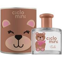 Água De Colônia Ciclo Mini Ursolina Ciclo Cosméticos Perfume Infantil - 100Ml - Unissex-Incolor