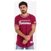 Camiseta Mitchell Ness Nfl Washington Redskins Vinho