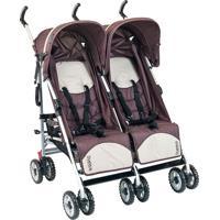 Carrinho De Bebê Duetto-Burigotto - Brown