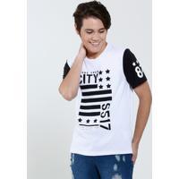Camiseta Juvenil Escrita Frontal Marisa