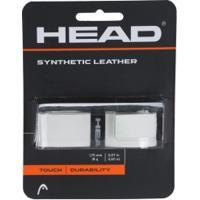 Cushion Grip Head Synthetic Leather - Branco