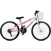 Bicicleta Aro 24 Serena Plus 21 Marchas Master Bike - Feminino