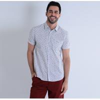 Camisa Social Cinza - MuccaShop 0a32884bb83a8