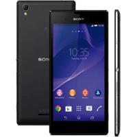 "Smartphone Sony Xperia T3 D5106 Preto - 8Gb - Câmera 8Mp - Android 4.4 - Tela 5,3"""