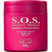 Máscara Tratamento Kpro Sos Summer Masque Protege 500G - Feminino-Incolor