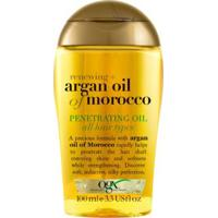 Finalizador Óleo Capilar Ogx - Argan Oil Of Marocco Penetrating Oil 100Ml - Unissex-Incolor