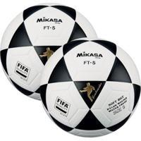 Kit 2 Bolas Futevôlei Mikasa Fifa Ft5 - Masculino