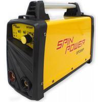 Máquina Inversora De Solda Spin Power Sp200P Vulcan Ferramentas Amarelo 220V