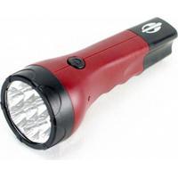 Lanterna Recarregável Mormaii Preto/Vermelho