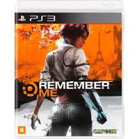 Jogo Remember Me Para Playstation 3 (Ps3) - Capcom