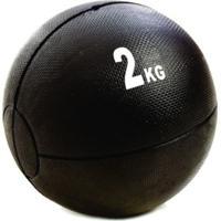 Medicine Ball 2Kg Gears 566 Preto