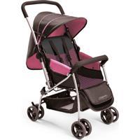 Carrinho De Bebê Berço Flip Rosa Multikids Baby