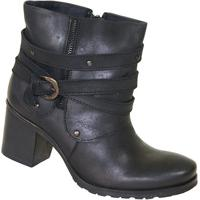 Bota New Comfort London - Feminino-Preto