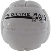 Bola Medicine Ball Pentagol 3 Kg Resistência Fisioterapia - Unissex