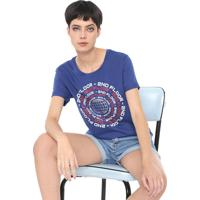 Blusa Ellus 2Nd Floor Repeat Azul