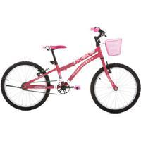 Bicicleta Houston Nina, Aro 20, Freios V-Brake, Quadro Aço Carbono - Nn201Q