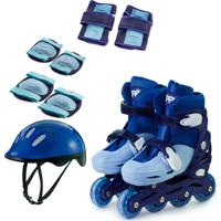 Kit Patins In Line Ajust Az 30-33
