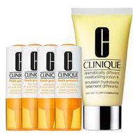 Kit Facial Clinique Fresh Pressed Vitamina C + Hidratante Dramatically Different Moisturizing Lotion 50Ml