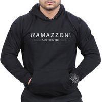 Moletom Blusa De Frio Ramazzoni Authentic Marca Famosa Preto