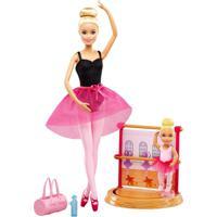 Conjunto De Bonecas - Barbie - Barbie Profissões - Professora De Ballet - Mattel - Feminino-Incolor