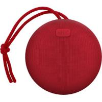 Caixa De Som Sem Fio Com Bluetooth Aerbox - Vermelho