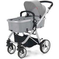 Carrinho De Bebê Hero Do Nascimento Até 15Kg Cinza Fisher Price - Bb594 Bb594