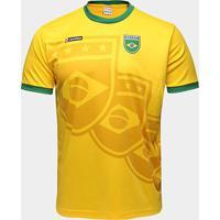 Camisa Brasil 1994 N° 11 Lotto Masculina - Masculino