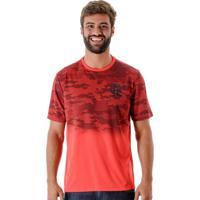 Netshoes  Camiseta Flamengo Camo Braziline Masculina - Masculino 6fa458a4a4f33