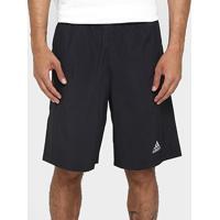 Short Adidas D2M Masculino - Masculino-Preto