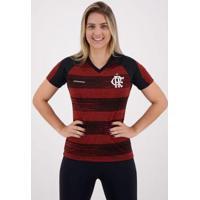Camisa Flamengo Motion Feminina - Feminino-Preto