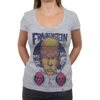 Creature Frankstein - Camiseta Clássica Feminina