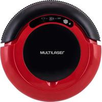 Aspirador De Pó Multilaser Robô 3 Em 1 Vermelho/Preto Bivolt