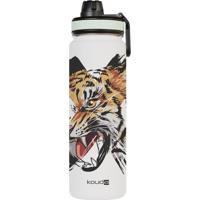 Garrafa Tigre- Inox & Branca- 600Mlkouda