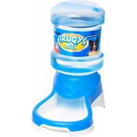 Bebedouro Automático Para Cães E Gatos Truqys Pets Azul 2 Litros