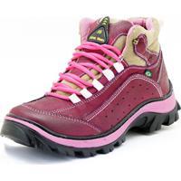 Bota Atron Shoes Adventure Bordo