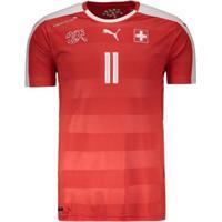 Camisa Puma Suíça Home 2016 11 Behrami Masculina - Masculino