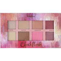 Paleta Cheek Flush Ruby 8 Cores - Hb-7507 - Unissex-Incolor