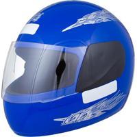 Capacete Moto Liberty Four Tam. 56 Azul - Pro Tork