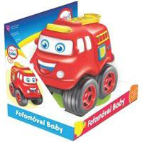 Brinquedo Carrinho Fofomóvel Baby Lider 5657