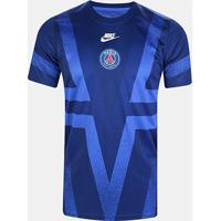 Camisa Paris Saint Germain Pré Jogo Cl 19/20 Nike Masculina - Masculino