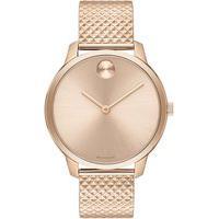 Relógio Movado Feminino Aço Rosé - 3600596