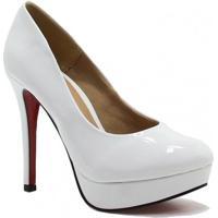 Sapato Zariff Shoes Meia Pata Verniz Noivas - Feminino