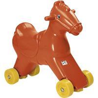 Cavalo Balanço E Andador Alpha Brinquedos 5001 Vermelho