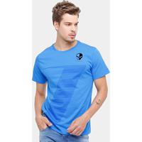 Camiseta Corvette Pro Racing Masculina - Masculino-Azul