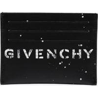 Givenchy Porta Cartões Com Logo - Preto