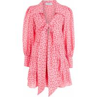 Olympiah Vestido Coração Estampado - Rosa